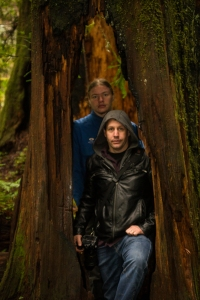 Robin and Eric at Redwoods