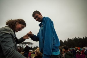 """Dance with Me"" My daughter and son at Cape Blanco Country Music Festival."