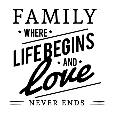 """<IMG=""""quote: family where life begins and love never ends"""">"""