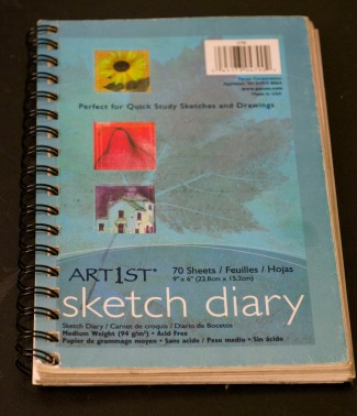 Pacon sketch diary